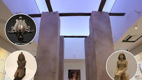 Egypt v Praze. Miliardová výstava Sluneční králové v Národním muzeu se otevírá. Co zde uvidíte?