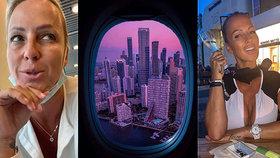 Zuzana Belohorcová už to rozsekla: Opustila Miami i manžela!