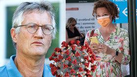 Od promořování k rouškám. Švédové vzali útokem lékárny, přitvrdí opatření?