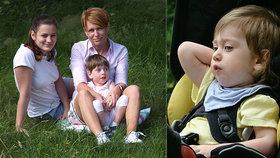 "Emilka (4) trpí syndromem ""hadrové panenky""! Přesto nám lidé závidí, šokuje maminka"