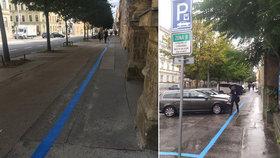Oprava jako Brno: Pro auta 4 metry, pro chodce uzoučká ulička hanby! Stálo to 99 milionů!