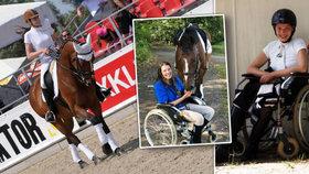 Katka prodělala agresivní nádor, i s bolestmi jezdí na koni:Poslední závody v ohrožení