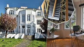 Kubistický skvost - Kovařovicova vila se otevře veřejnosti. Začíná festival Open House Praha