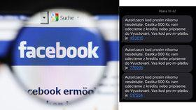 Obří podvod na sociálních sítích! Grázl se vydává za přítele, z lidí mámí kódy k platbám