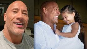 Koronavirus drtí celebrity: Dwayne Johnson potvrdil nákazu! Odnesly to i malé dcery