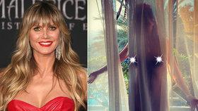 Nestydatá Heidi Klumová (47) opět dráždí: Kvůli manželovi (31) odhalila nahé tělo!