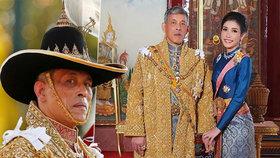 Šílený život thajského krále: Milenky, uniklá videa a 35 let basy za jeho kritiku