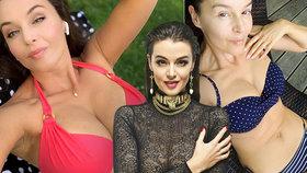 Sexy Iva Kubelková o focení v plavkách: Cítila bych se bez toho diskriminovaná!