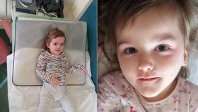 Leontýnku trápí epilepsie a Rettův syndrom: Za jeden den měla až dvacet záchvatů!