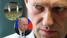 """Moskva po otravě Navalného: Novičok není naše """"specialita"""", pracuje s ním hodně zemí"""