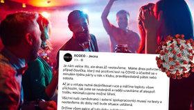 Nákaza v dalším pražském klubu! Na víkendové párty v Rodeu v Ječné zapařil někdo s koronavirem