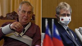 Vyhodí volby Vystrčila z křesla? Šéf Senátu o schůzkách se Zemanem i zájmu známých tváří