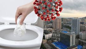 Experty vyděsili záhadně nakažení: Koronavirus se zřejmě rozšířil spláchnutím záchoda