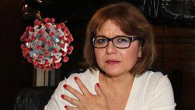 Ivana Andrlová (59) má covid! Trpí v šílených horečkách