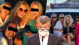 Babišová na jachtě: Premiér čelí koronaviru, jeho žena se v Chorvatsku loučila s létem