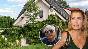 Problém pro Olgu po smrti Jiřího Menzela (†82): Co s vilou za 20 milionů a obří hypotékou?!
