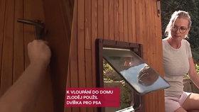 Zloděj v Přerově vnikl do domu psími dvířky: Pak usnul za postýlkou s dítětem!