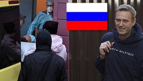Putinův kritik Navalnyj už může po otravě mluvit, v Německu zpřísnili jeho ochranu