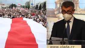 Babiš vetoval schůzku s vůdkyní běloruské opozice. Ostuda, zbabělec, hřímá opozice