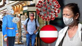 Roušky se vrací i k sousedům. V Rakousku budou povinné v obchodech, na úřadech i ve školách