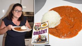 Veronika (39) prozradila recept na rodinné hovězí Stroganoff! Další recepty v České kuchařce Blesku