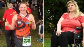 Robustní ňadra sportovkyni ničí páteř: Kvůli prsům skončila na vozíčku!