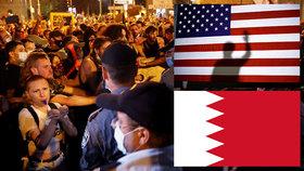 Trump zklidňuje Blízký východ: Bahrajn naváže vztahy s Izraelem, přidal se k Emirátům