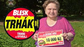 Trhák odstartoval: První výherkyní štědré a snadné hry je paní Zdeňka (56) z Jirkova