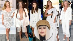Módní kritička Blesku Ina T.: Luxus i tragédie celobílých outfitů