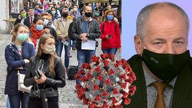 Koronavirus ONLINE: Akce pro 10 až 20 lidí, žádá Prymula. A přes 600 obětí v Česku