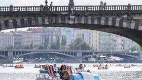 Česku se připomněly tropy. U Prahy a na severu teplota přesáhla 32 °C