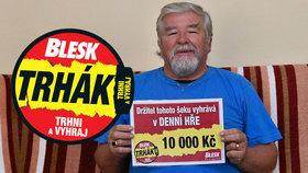 Lubomír Konečný si kupuje Blesk denně od prvního výtisku: Výhru z Trháku schovají jako rezervu