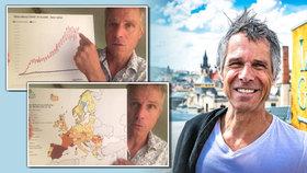 Rozzlobený Janek Ledecký o koronavirové krizi: Je to zastrašující kampaň! Je čas dupnout na brzdu