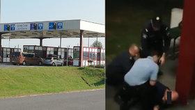 Autobus zadržený na hranicích se vrátil do Čech: Svědci popsali, co se tam dělo