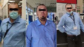 Tomáš upozornil ochranku v Tescu, že nemá roušku: Ty mr*ko, křičel sekuriťák a plival na zákazníka