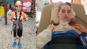 Dominik (12) bojuje se záhadnou nemocí: Ze zdravého sportovce se stal ležákem!