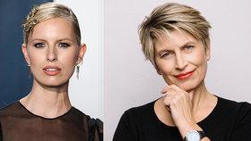 """Karolína Kurková odhalila """"své starší já""""! Po kom zdědila neskutečný půvab?"""
