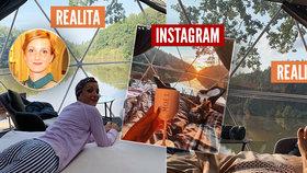 Maurerová odhalila falešnou romantiku z instagramu: Místo idylky bahno, zima a hluk!