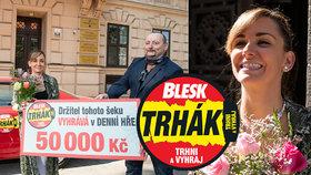 Katka (30) z Brna pomohla milované bábince k jedné z hlavních výher v trháku: Rodinná souhra přinesla 50 tisíc!