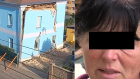 Hana popsala zřícení domu v Liberci: Vběhla jsem tam, ať to na mě klidně spadne, líčí chvíle hrůzy
