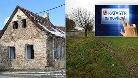 Nevlastníte nevědomky dům nebo pole? 175 tisíc nemovitostí v ČR nemá známého majitele