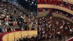 Pískot a křik v opeře. Diváci si vynutili zrušení představení kvůli koronavirovým opatřením