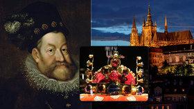 """Takhle před 445 lety korunovali Rudolfa II. ve svatovítském chrámu! Pražané se cítili """"ošizeni"""", proč?"""