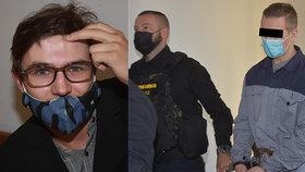 Sekeru mi zaťal do hlavy a mlčel: Lukáš u soudu popsal šílený útok spolužáka