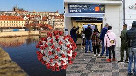1161 nakažených v Praze za jeden den. Začíná platit omezení v MHD, některé autobusy nejezdí
