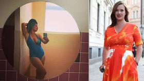 Leichtová se tři měsíce po domácím porodu ukázala v plavkách: Zenová víla, směje se