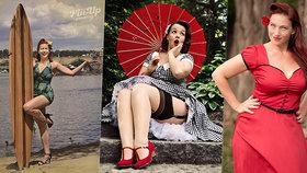 Sexy holky z kalendáře! Milovnice pin-up stylu pózovaly pro dobrou věc