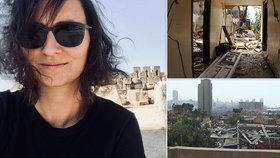 Denisa (32) popsala beznaděj po explozi v Bejrútu: Psychika lidí utrpěla, nevěří v lepší budoucnost