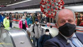 Praze se v příštích týdnech vyhněte, radí Prymula. Skončí hlavní město v karanténě?