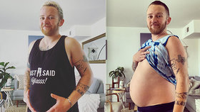Transgender muž (36) čeká své první dítě: Kvůli těhotenství přerušil hormonální terapii